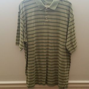Dockers Olive Green Polo Shirt Xl
